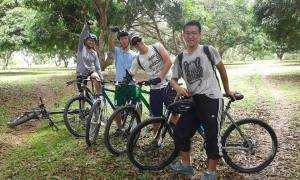 Mountain biking crew!