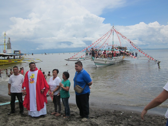San Juan Day celebrations in Pulupandan