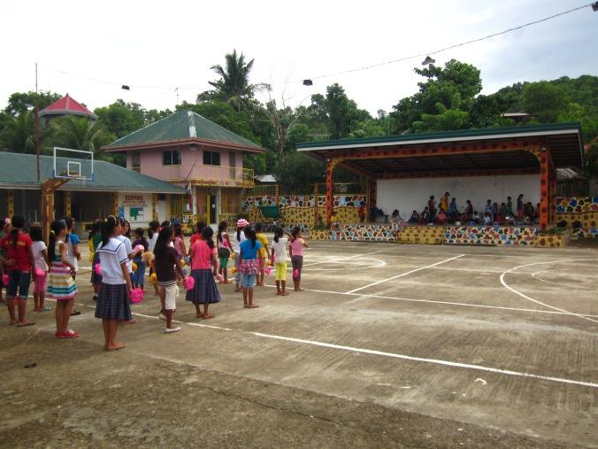 Community Center in Salvacion, Nueva Valencia