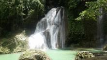 The twin waterfalls
